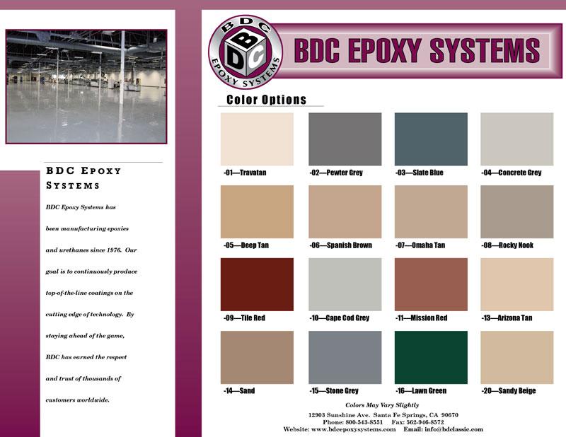 BDC Epoxy CC