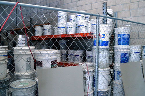 Supplies used for deck repair services in Orange County, CA