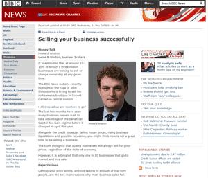 Howard Weston on BBC Website