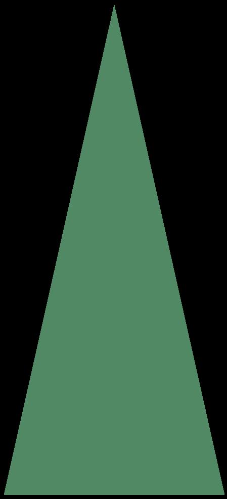 Triangle Christmas Tree