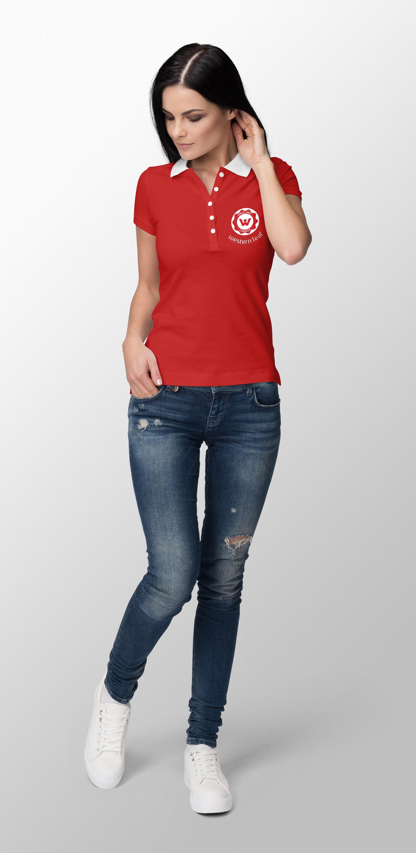 female work shirt design