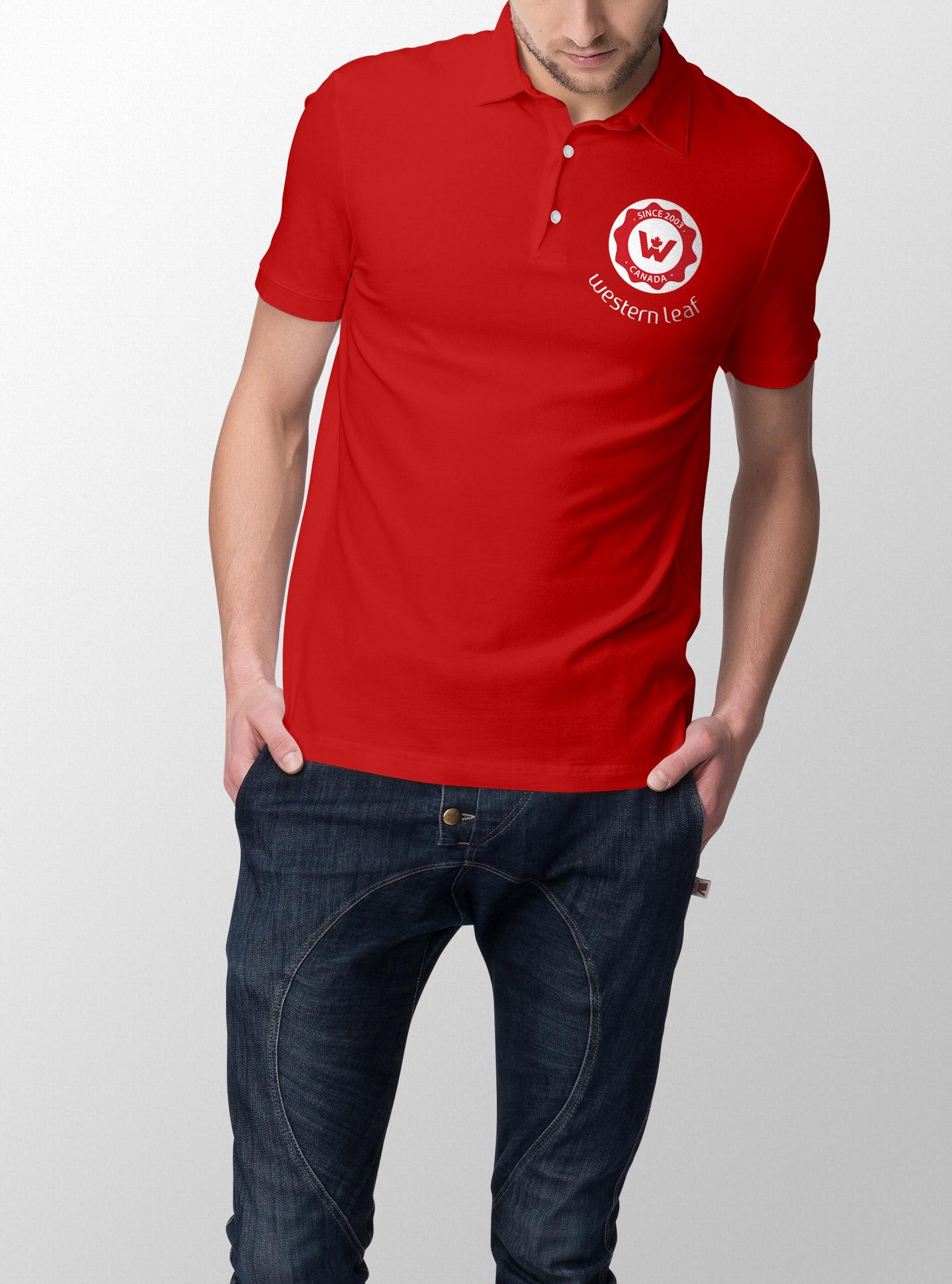 male shirt design