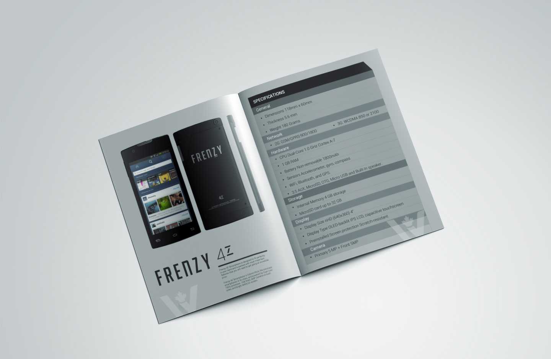 product brochure, fact sheet design