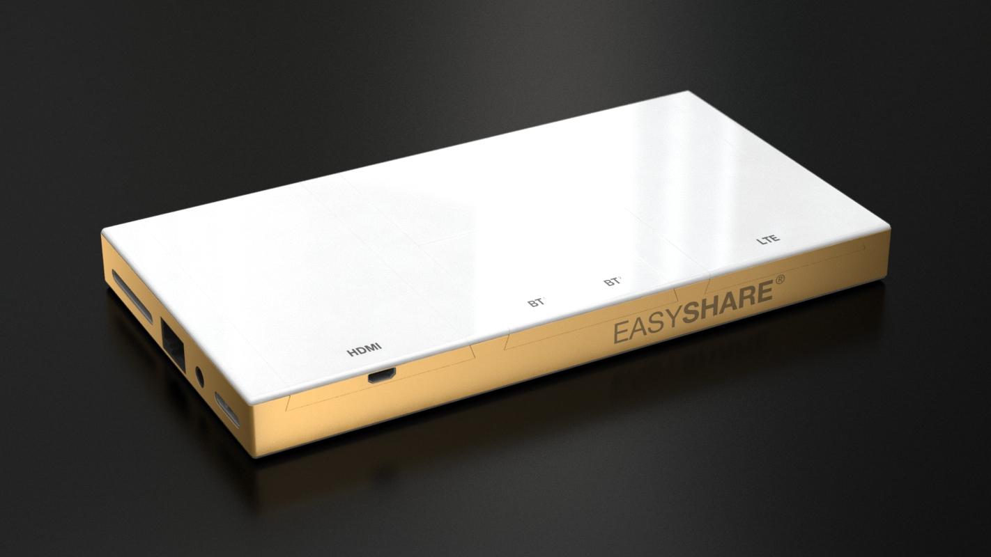 smart share gadget 3d design and modeling