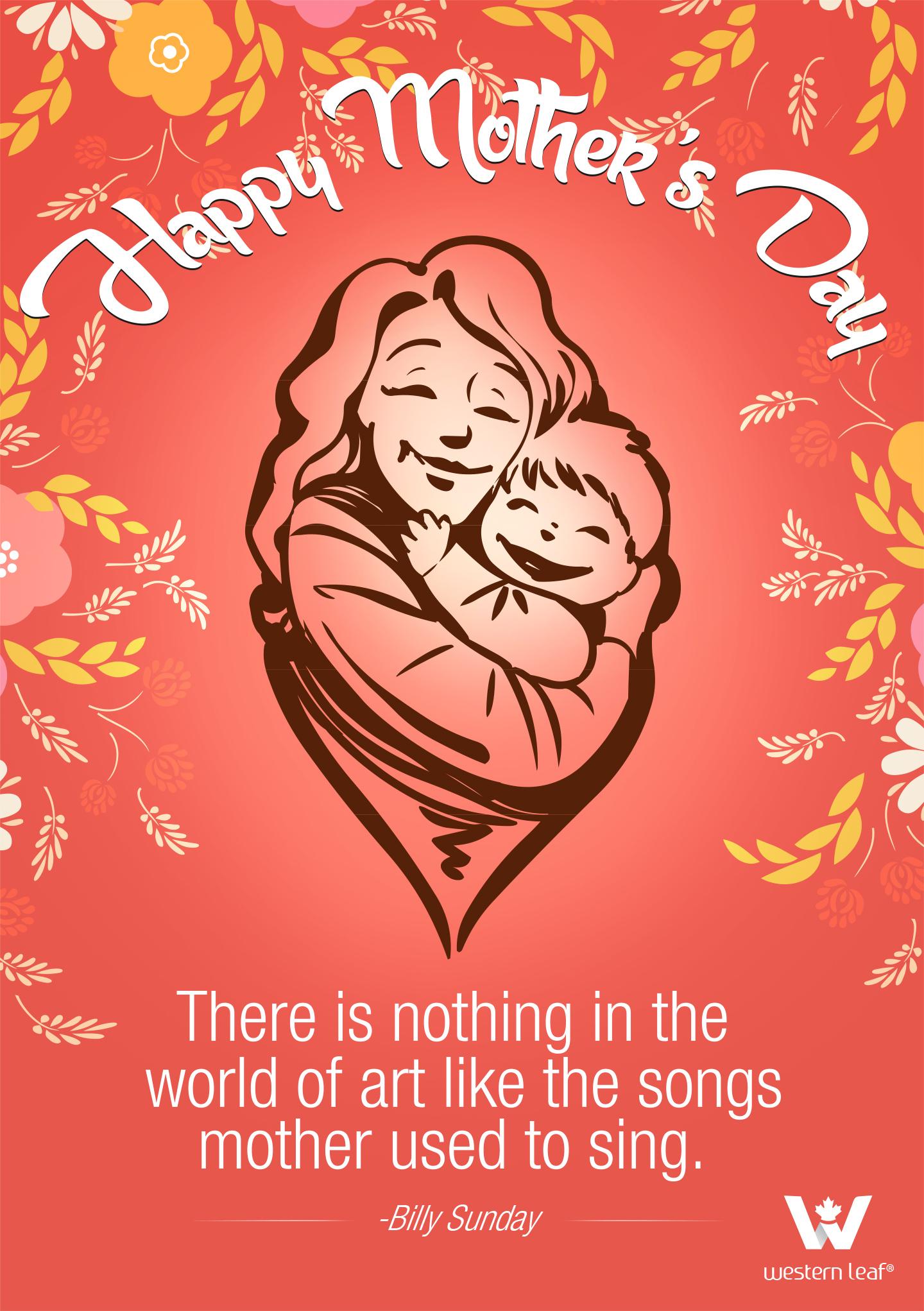 happy mothers day social media post design