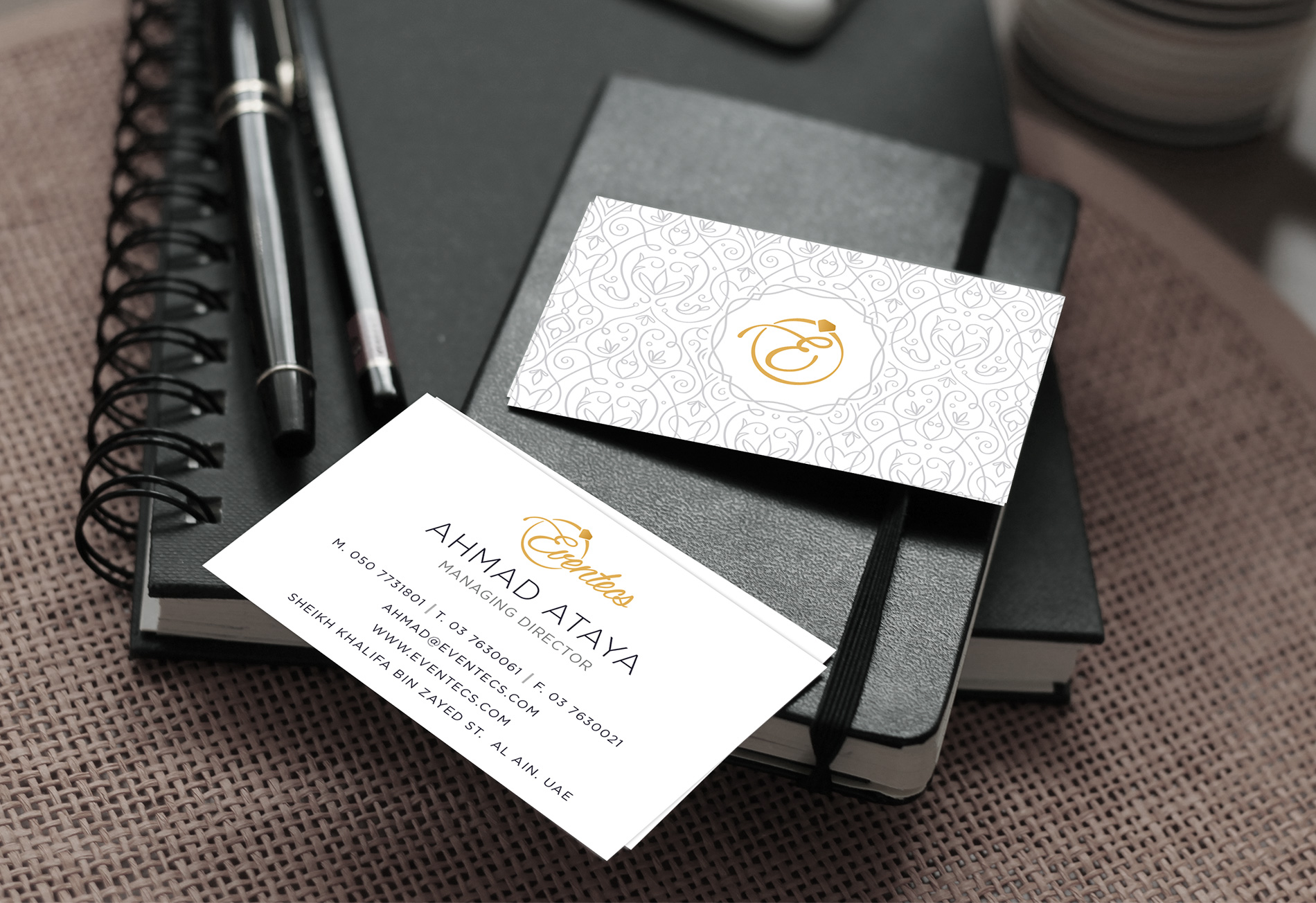 corporate identity business card design