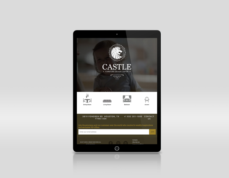 ipad tablet responsive website design