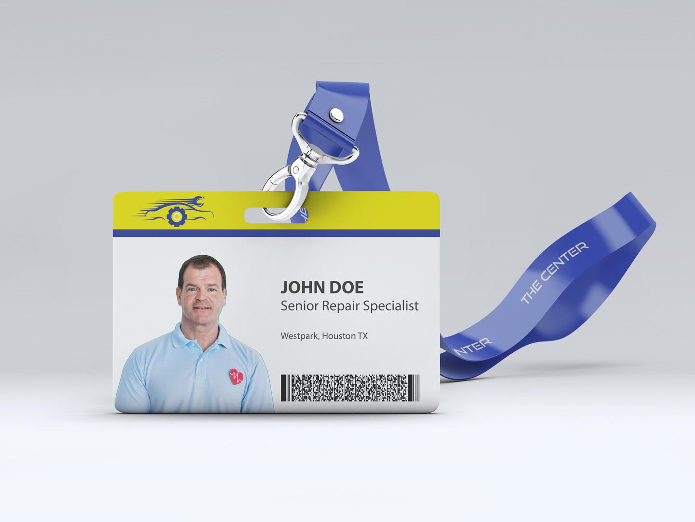 employee access card design