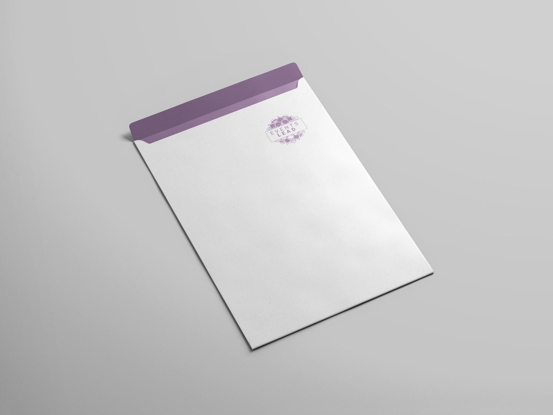 letter size envelope design