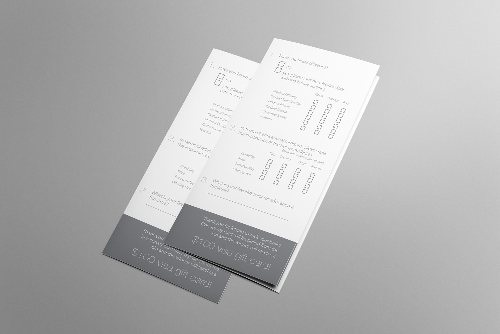 customer survey design