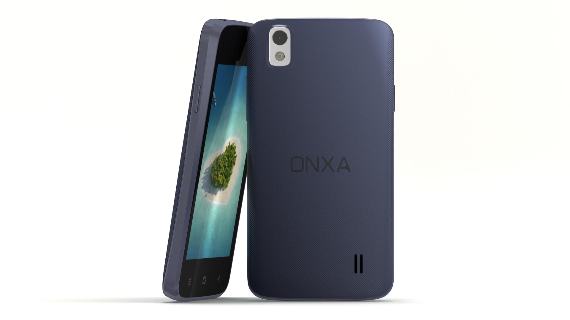 """blue 4"""" smartphone 3d modeling"""