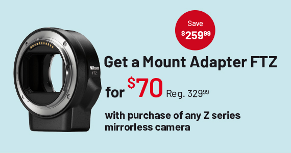 Get a Mount Adapter FTZ for $70
