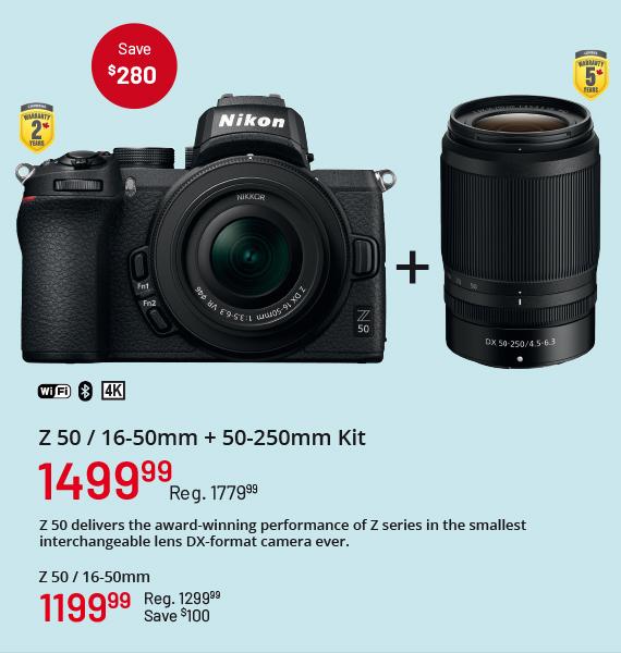 Z 50 16-50mm + 50-250mm Kit