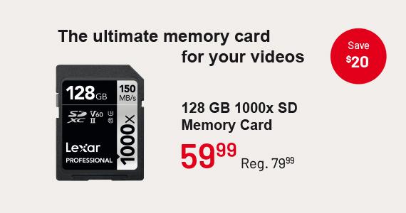 Lexar Memory Card