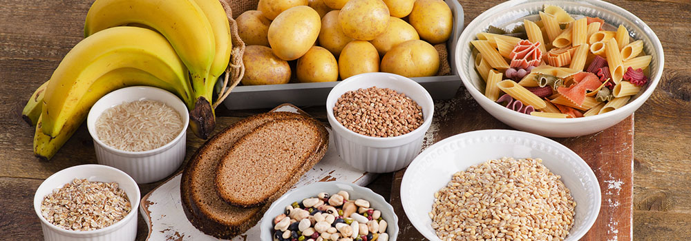 different types of carbohydrates potatoes pasta glycemic control