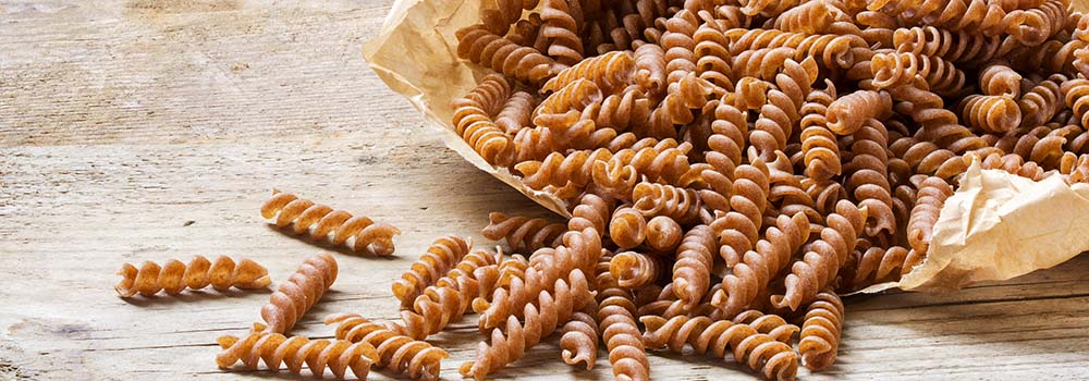 wholegrain pasta carbohydrates glycemic control