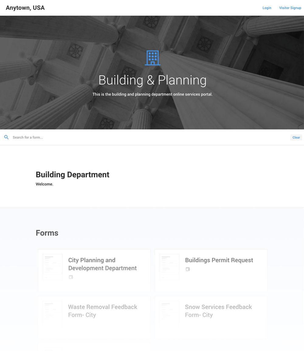 Create custom portals & employee dashboards.