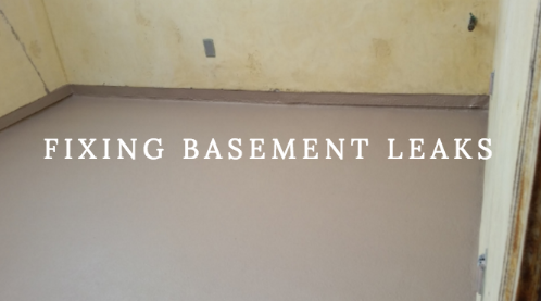 Getting Rid of a Leaking Basement