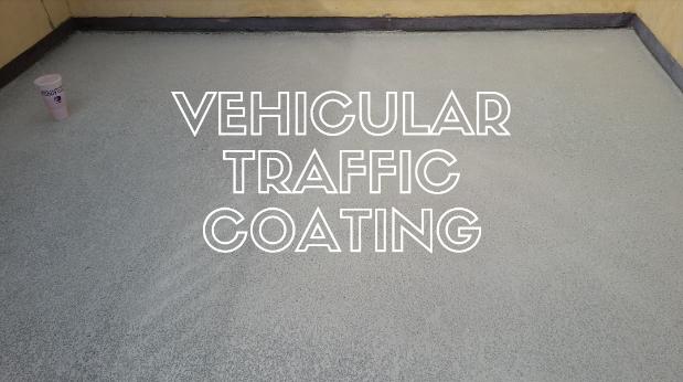 Vehicular Traffic Coating Matters