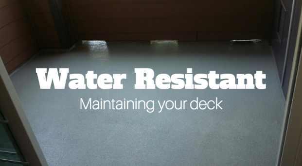 Some homeowners might believe that the only benefit to waterproofing your home deck is to protect it from water. However, in addition to this, there are many more benefits that come with waterproofing your deck.