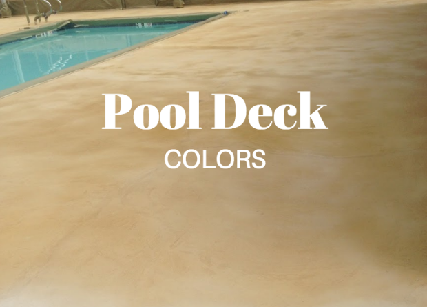 Colors to Enhance your Pool Deck