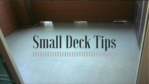How To Make The Most Of A Small Deck | WC Deck Waterproofing