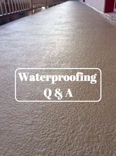 Waterproofing Price Concerns- Q&A