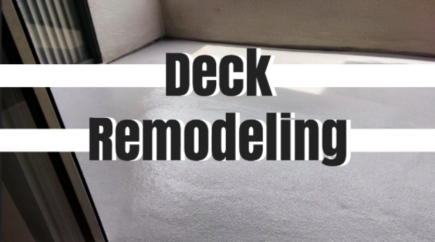 Consider This Before Remodeling Your Deck