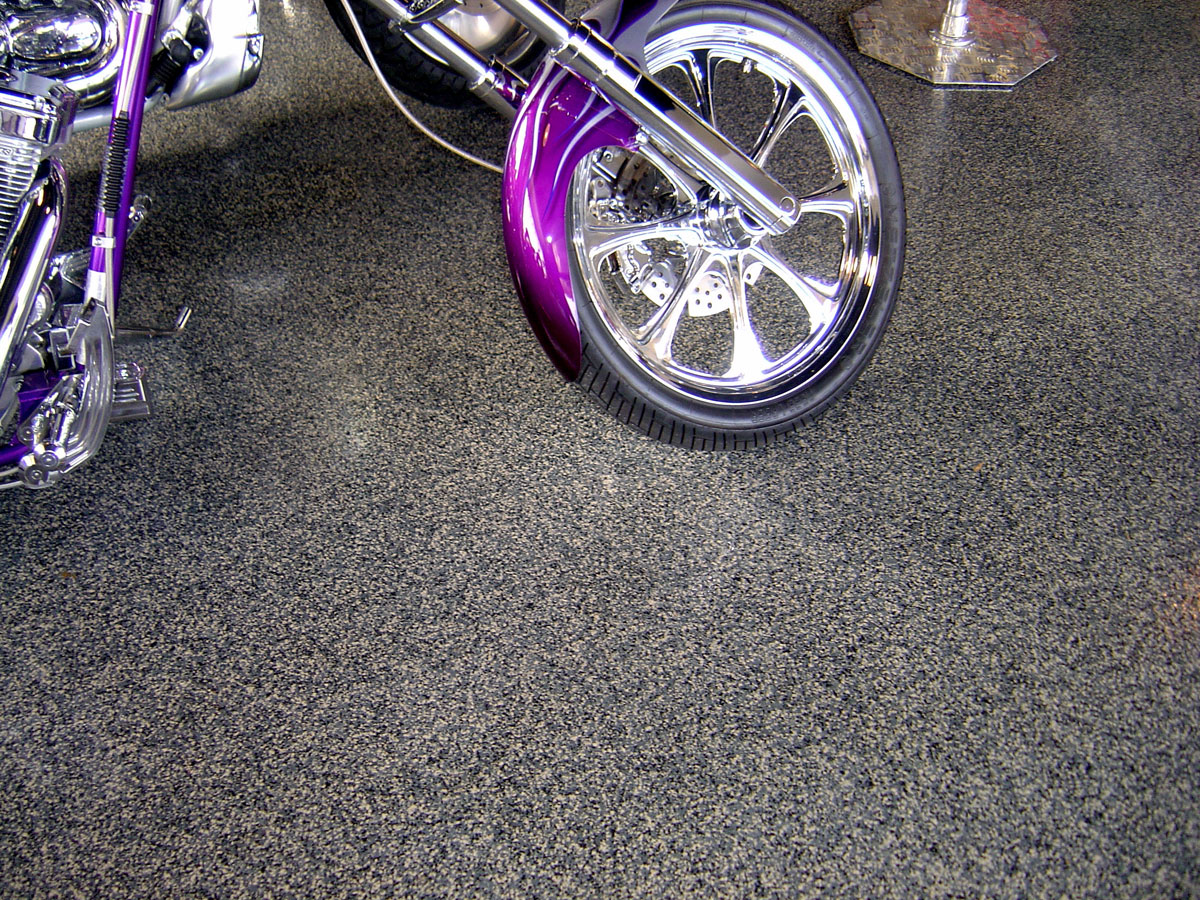 garage shop floor