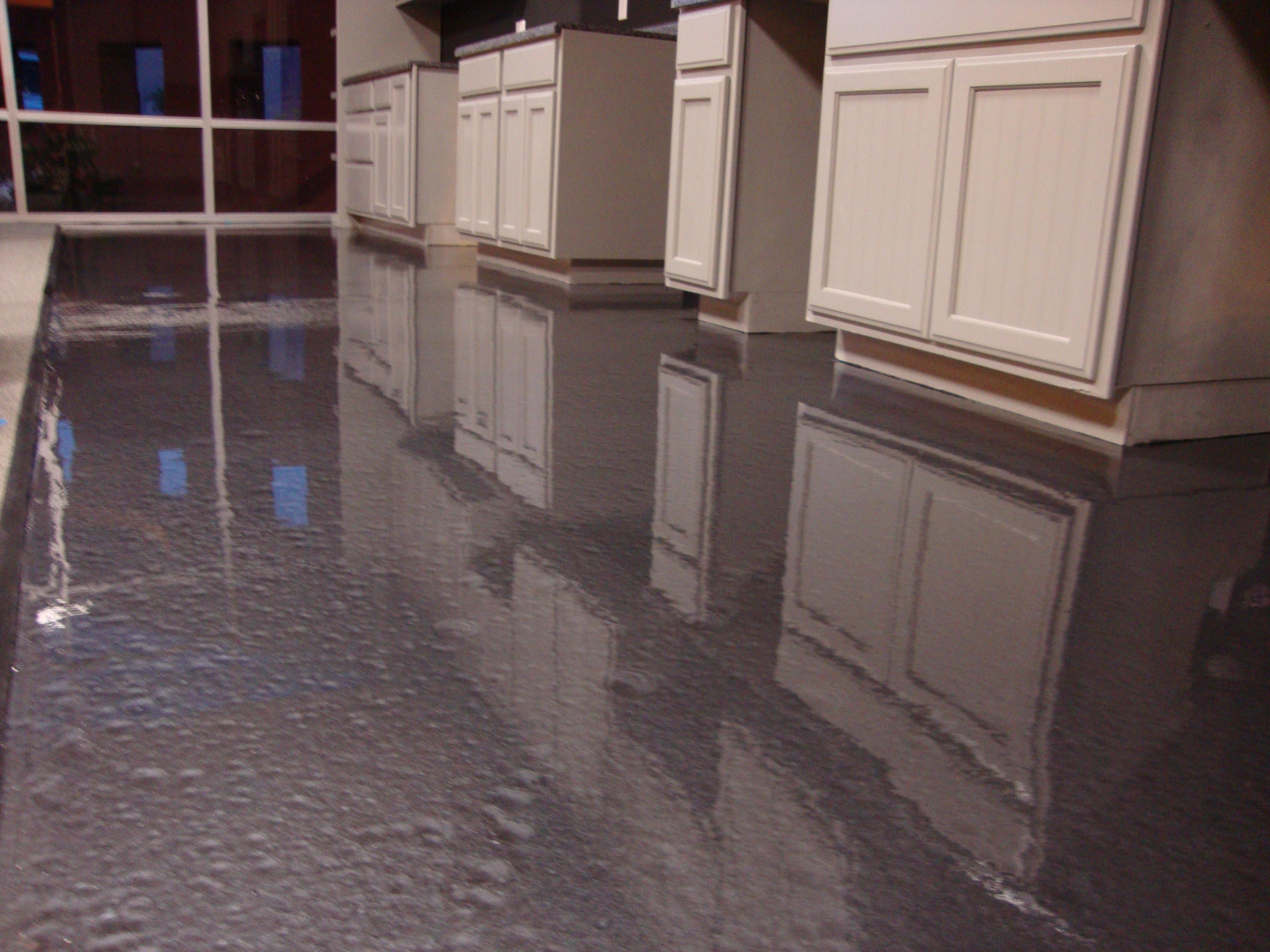 epoxy floor on garage