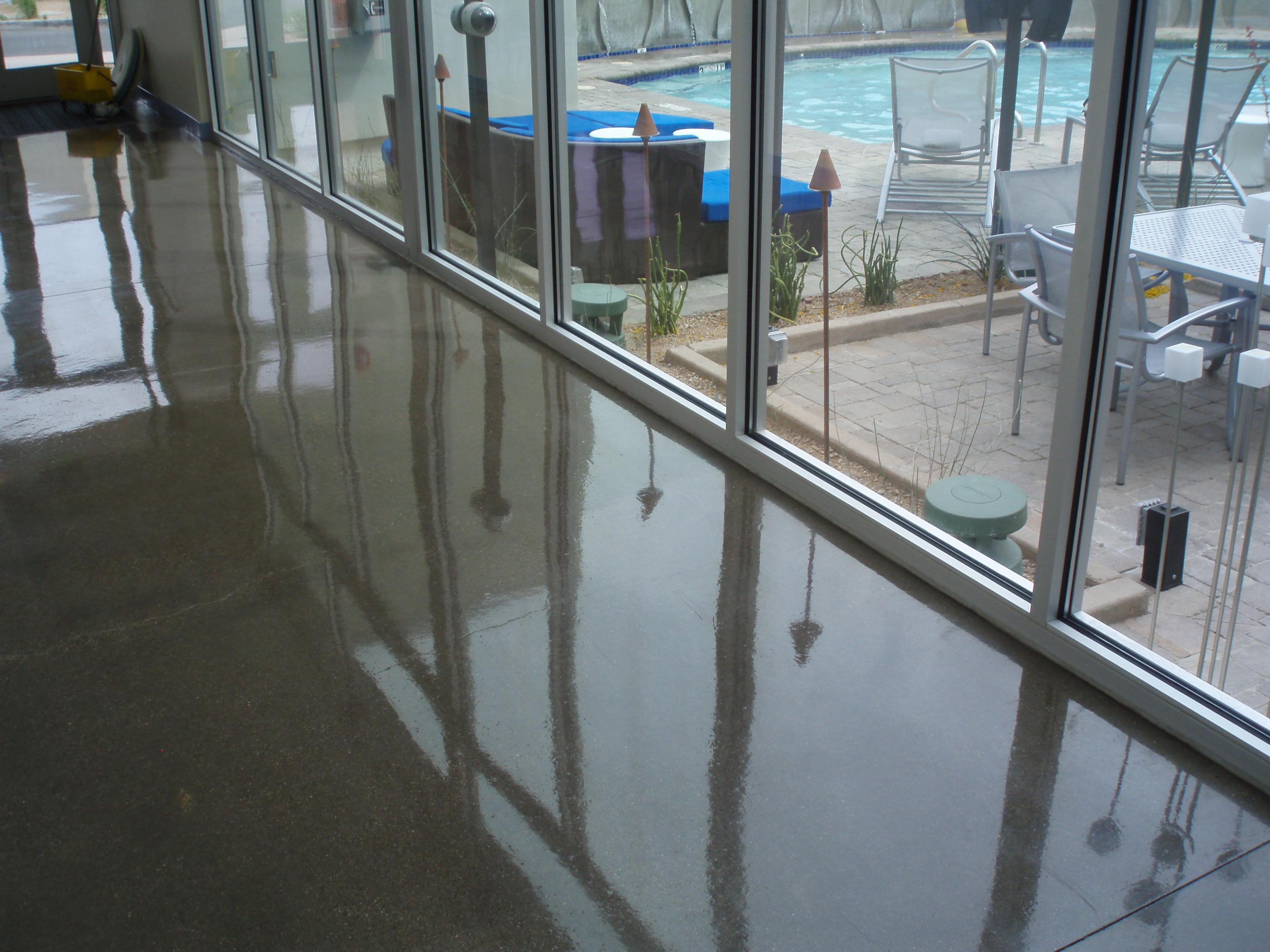 coating garage floors