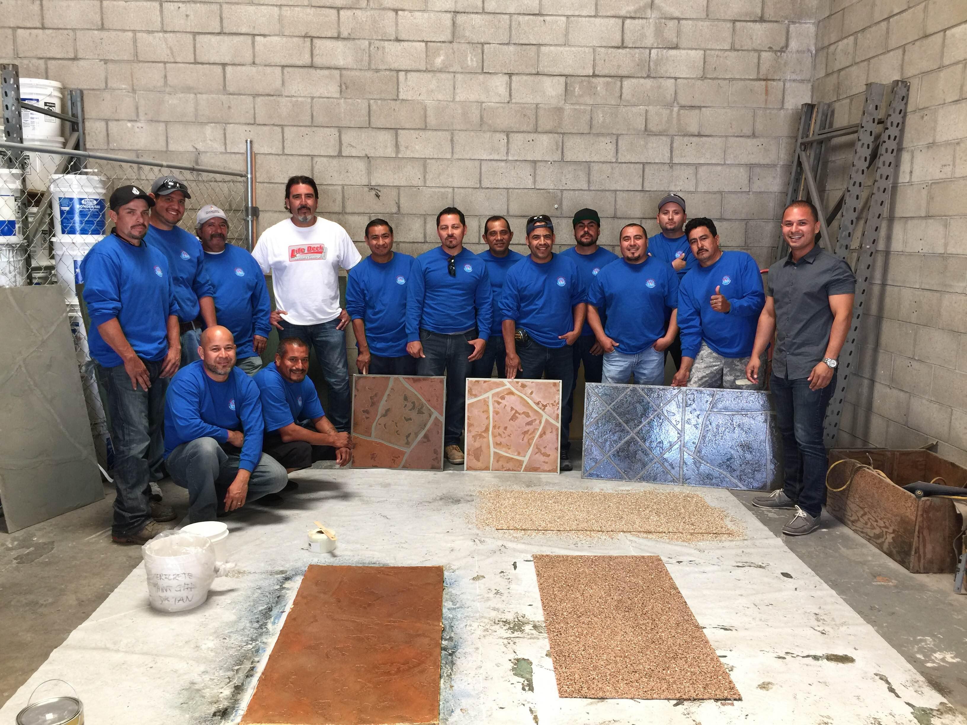 west coast deck waterproofing team