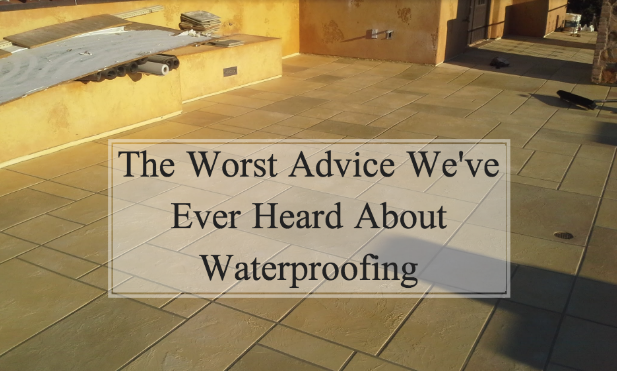 home waterproofing tips