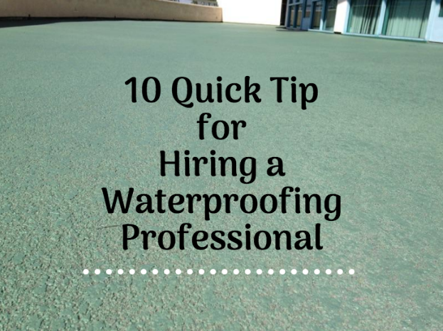 hiring waterproofing company