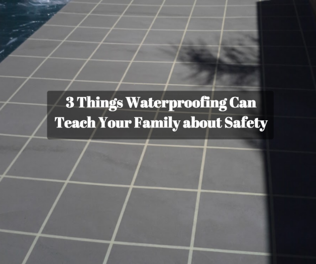 waterproofing pool tile