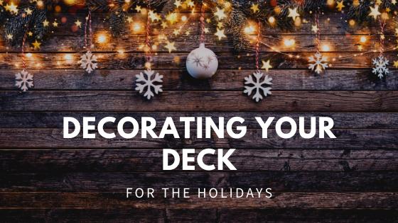 Christmas deck decorating ideas
