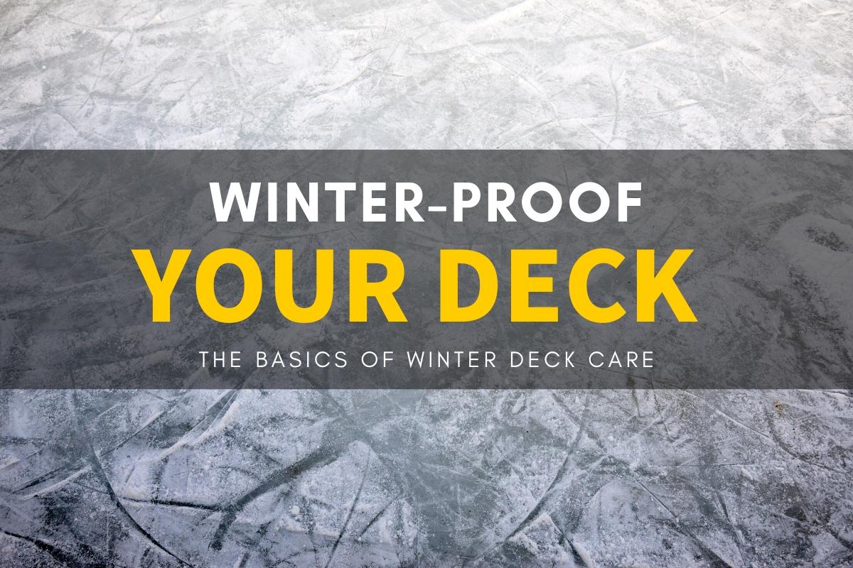 winter proof deck