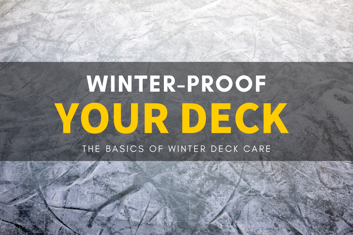 winter proof deck