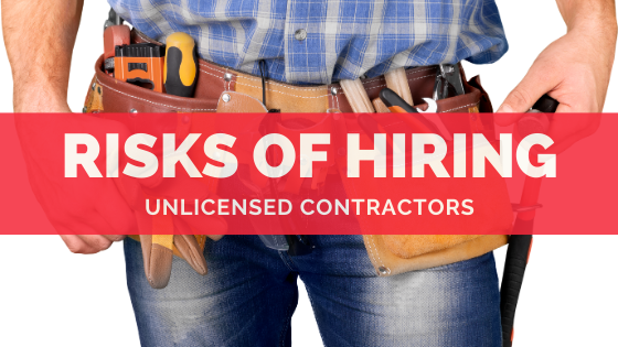 unlicensed contractor in California