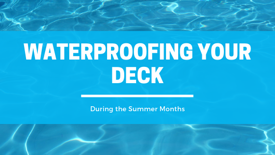 water seal deck for summer