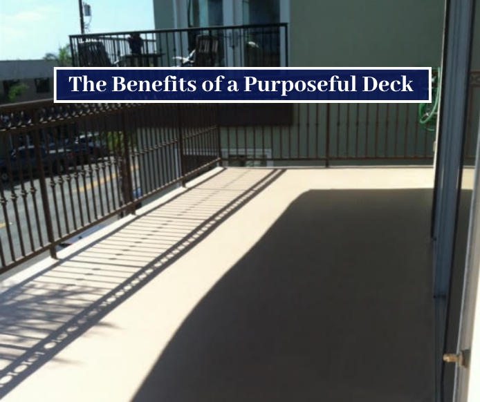 benefits of deck