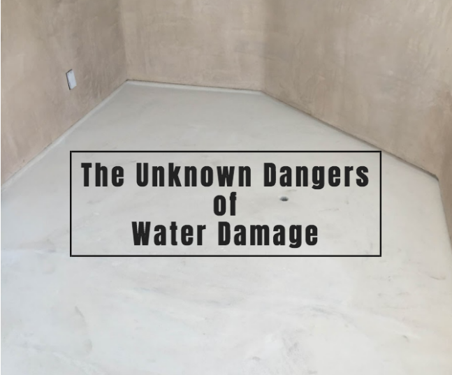 dangers of water damage