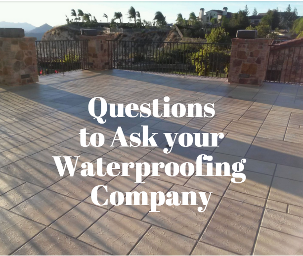 how to waterproof a deck