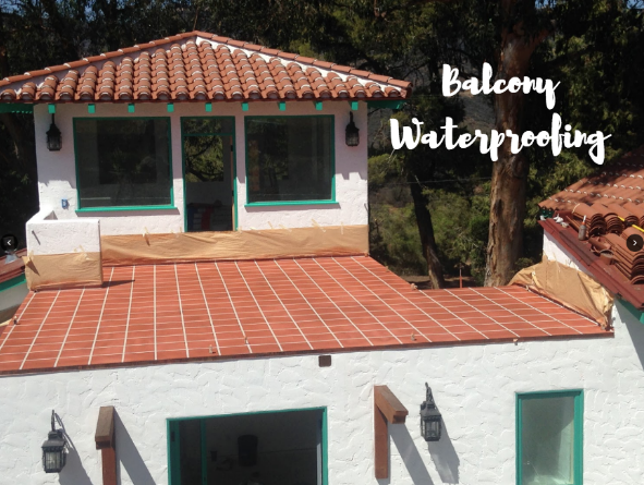 waterproofing a balcony
