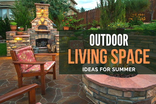 Beautiful Outdoor Backyard - Outdoor Living Space Ideas for Summer