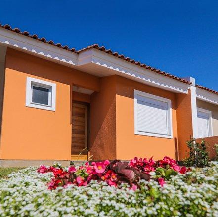 Fachada do Residencial Centro Novo em Eldorado do Sul