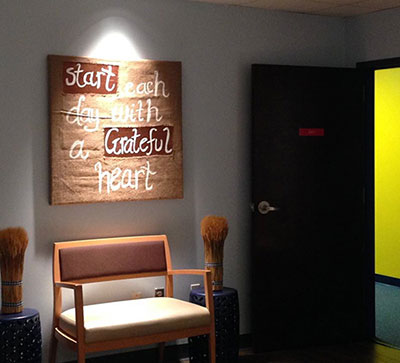 Start Each Day with a Grateful Heart Wall Art