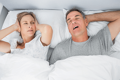 People who snore can make life difficult for their partner