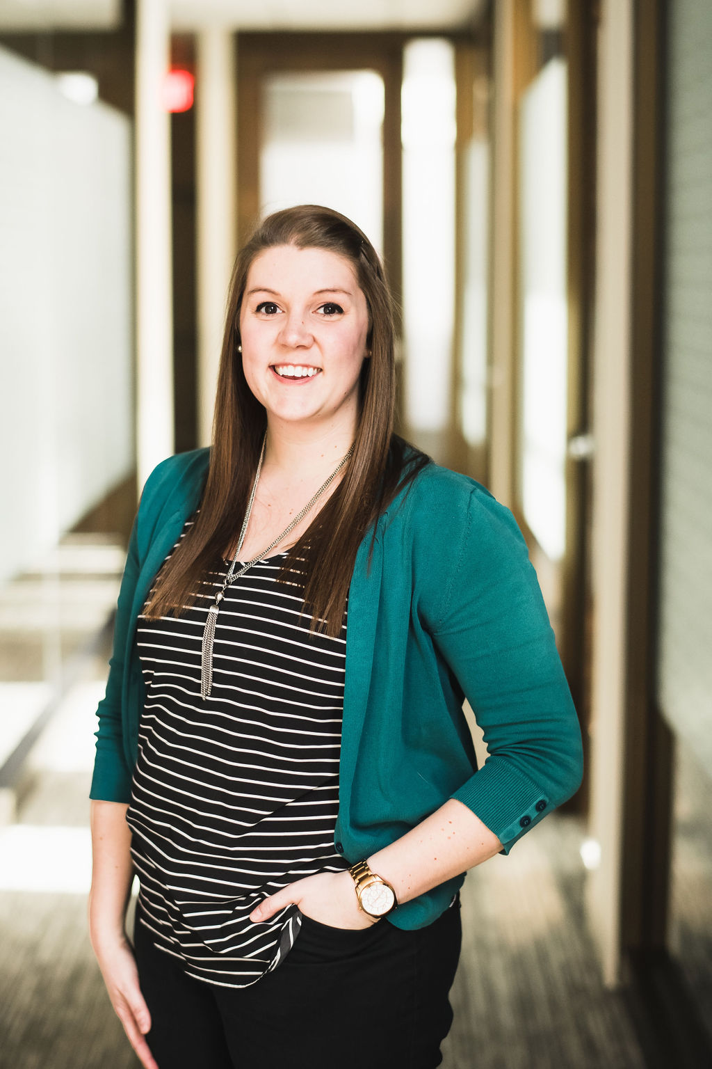Sarah Kaufman is an office manager at the great waters financial Vadnais Heights office