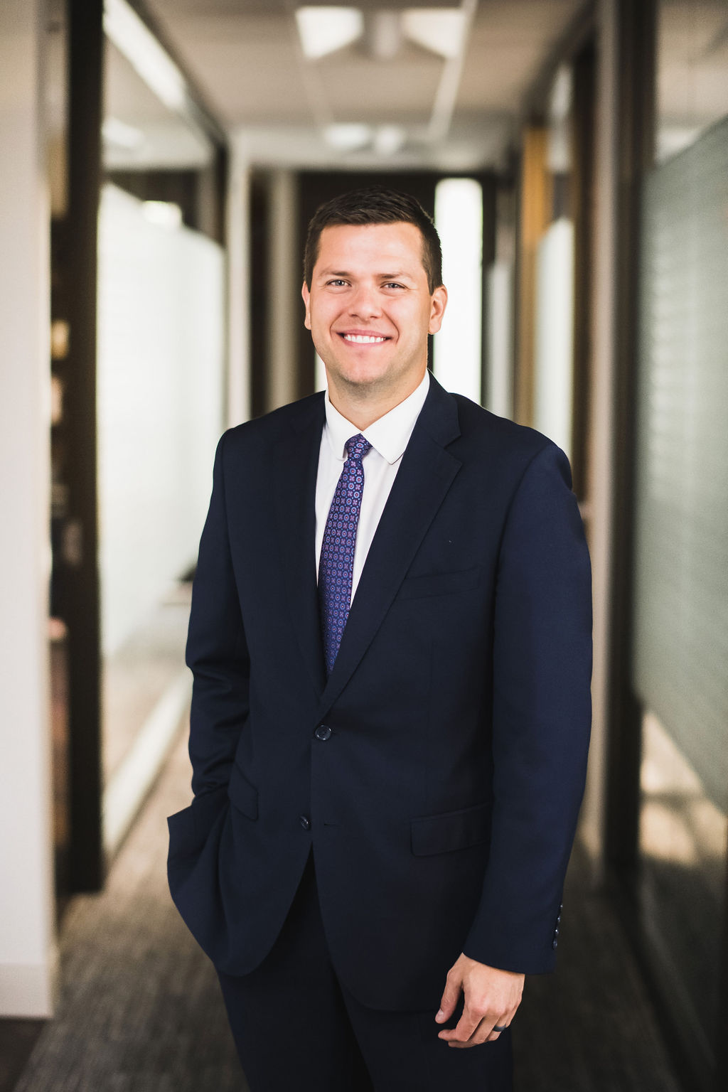 Brian Jass is a financial advisor at the great waters financial Vadnais Heights office